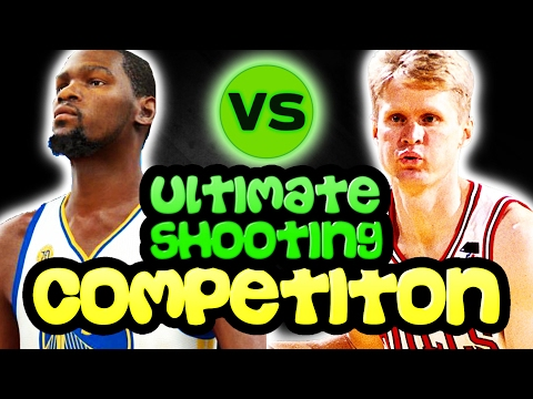 WHO IS THE BETTER SHOOTER KEVIN DURANT OR STEVE KERR? NBA 2K17 CHALLENGE