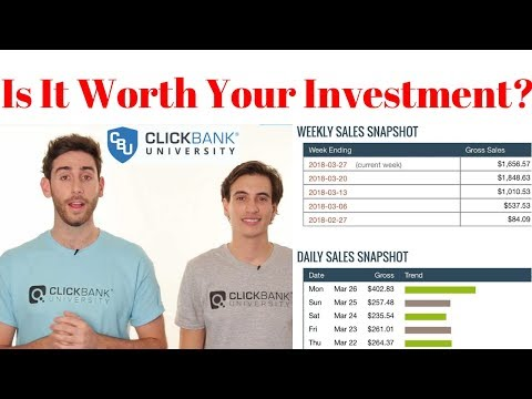 Clickbank University Review - Is It Worth Your Investment? | How To Money Online Affiliate Marketing