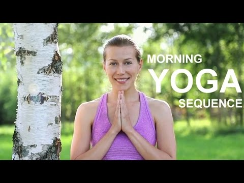 morning yoga sequence  40 minute yoga for energy