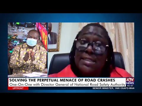 Solving the Perpetual Menace of Road Crashes - Upfront on JoyNews (14-4-21)