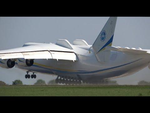 Der Start des größten Flugzeugs der Welt, der Dich umhauenwird!