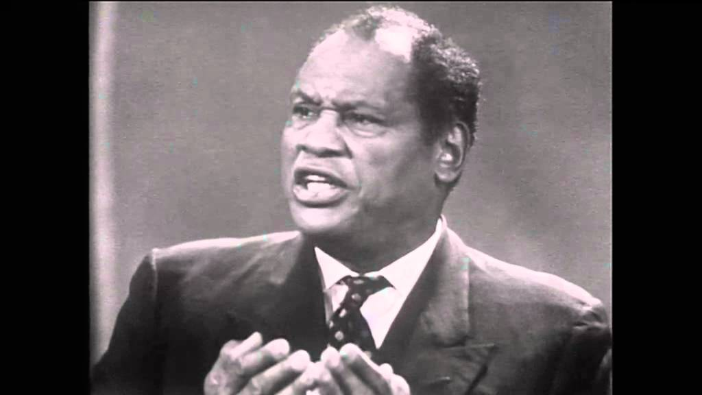 Paul Robeson | On Colonialism | African-American Rights (Spotlight, ABC,1960)