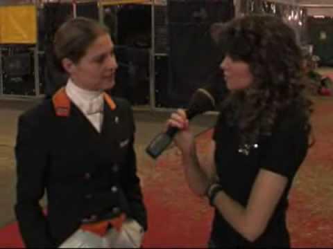 Jolanda Adelaar interviews Isabell Werth, meredith michaels beerbaum, Jeroen Dubbeldam, Anky etc