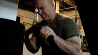 Pushdowns with Dave Draper Stealth Tri-Blaster Bar