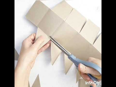 DIY PAPER FOLDER (4 pockets)