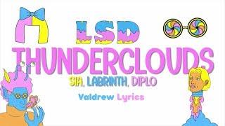 LSD - Thunderclouds ft. Sia, Diplo, Labrinth (Lyrics-Letras) Animated Lyric Video#LSD Video