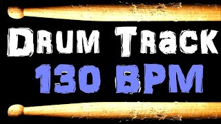 Rock Blues Drum Backing Track 130 BPM Beat Free Backing Drum Sample Tracks