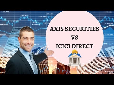 ICICI Direct Vs Axis Securities - Detailed Comparison - Pricing, Platforms, Exposure