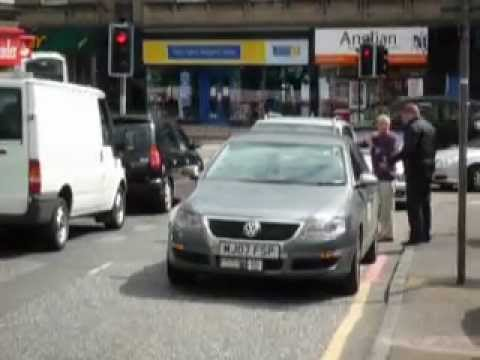 We don't fight in Corstorphine - do we? Taxi Stand Off