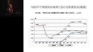 京都大学経済研究所 50周年記念講演会 李 栄 薫 先生