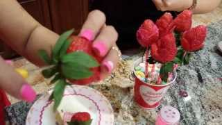 Rose Craved Strawberries Thumbnail