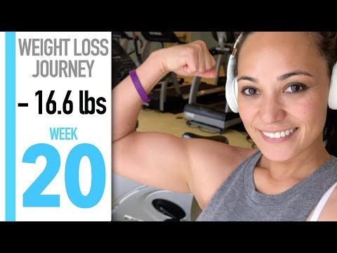 My Weight Loss Journey: WEEK 20 | PUSHING THROUGH & PACKING FOOD