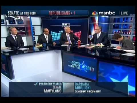MSNBC 2010 Election Night Coverage Part 11