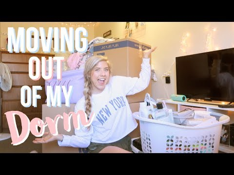 MOVING OUT OF COLLEGE!