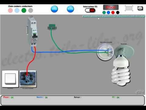 Branchement telerupteur doovi - Schema electrique simple allumage ...