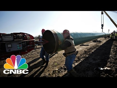 President Donald Trump Approves Keystone XL Pipeline | CNBC