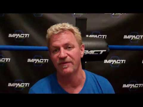 (Part 1) Jeff Jarrett Interview at GFW/Impact Wrestling at Universal Studios in Orlando July 2017