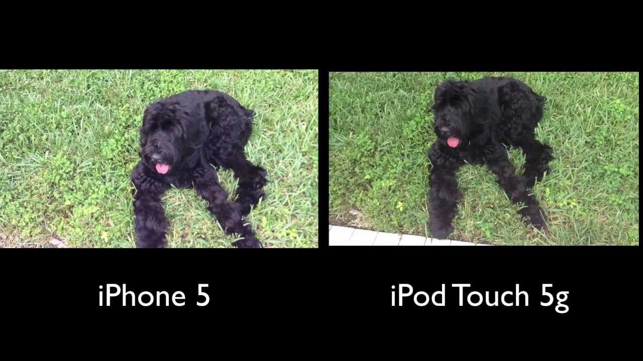 IPod Touch 5G Camera VS IPhone 5 Test