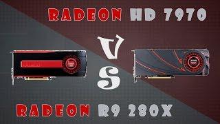 Radeon HD 7970 vs Radeon R9 280X Detailed Comparison (1080P; 1440P)