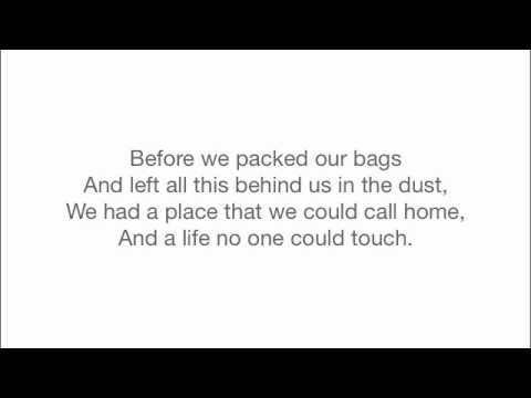 Rise Against - Prayer Of The Refugee (Instrumental With Lyrics)