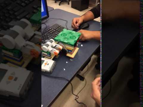 Lego NXT Paper Shredder