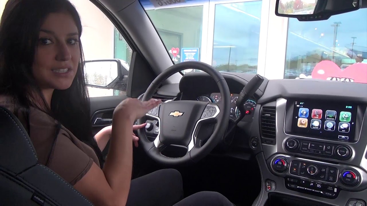 2020 Chevy Tahoe Premiere - Interior | Phillips Chevrolet ...