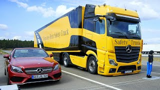 2019 Mercedes ACTROS – Digital Side Mirrors, Electronic Stability, Auto Braking, Side Guard Safety