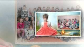 видео фотоальбом детский сад