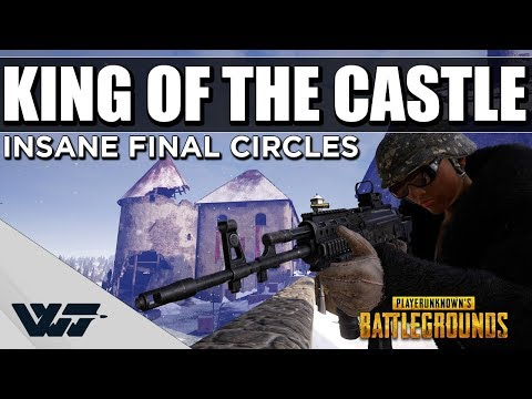 KING OF THE CASTLE - Insane final circles (Cinematic Gameplay) - PUBG