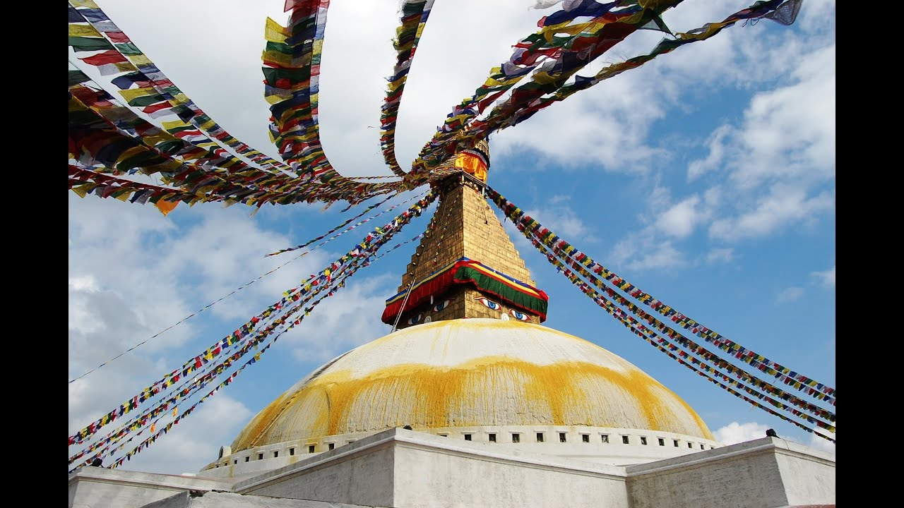 Boudhanath Stupa in Nepal for Vesak 2013