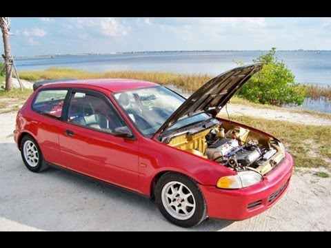 K20 swapped civic for sale