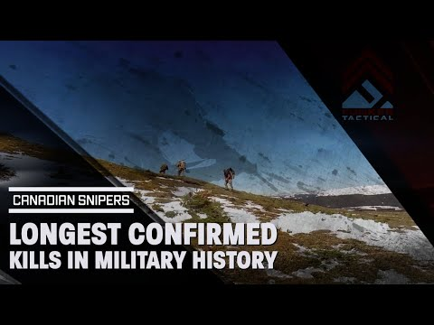 Longest Confirmed Kill in Military History Belongs to Canada | A Video Tribute To The Hard Work!