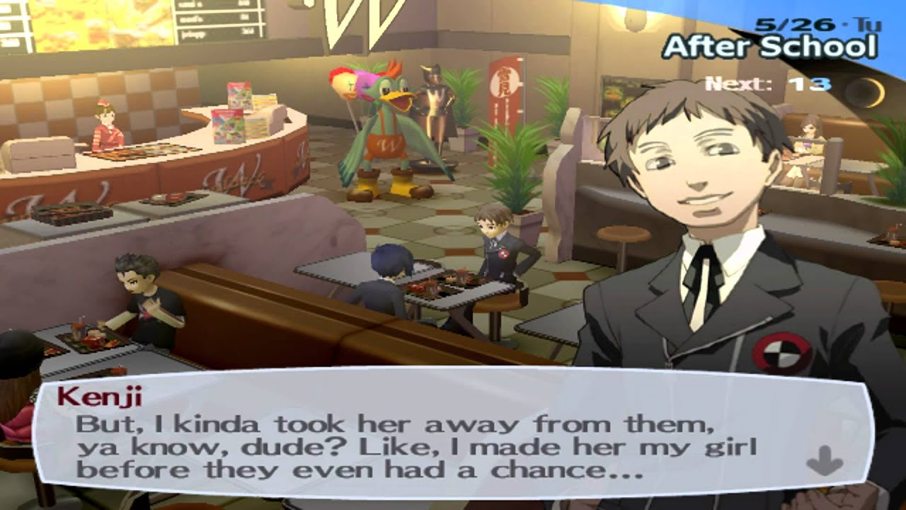 Dating options persona 3 cheats