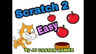 Scratch2 เกมส์เก็บApple สําหรับมือใหม่ง่ายมาก