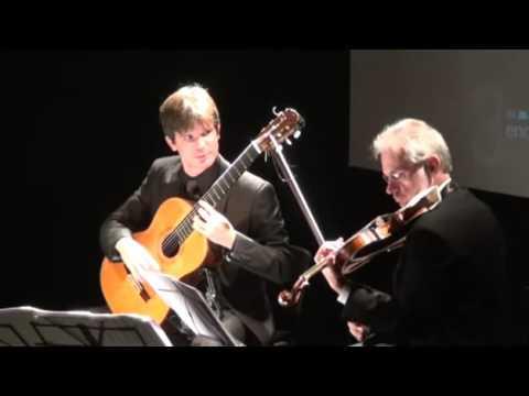 """Alberto Puerto And Jiri Sommer Plays """"Giordano Bruno"""" By Stepan Rak"""