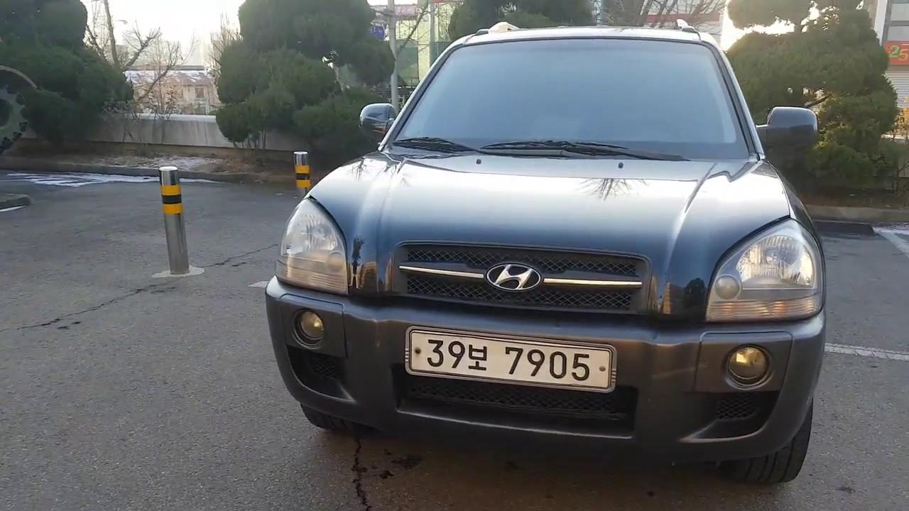 [Autowini com] 2007 Hyundai Tucson DIESEL JX -MONITOR+CAMERA (SENA Trading  Co , Ltd)