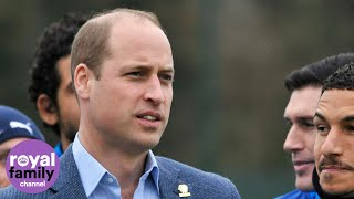 Prince William's Mental Health Message For Football Fans