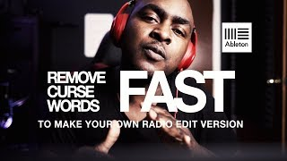 Remove Curse Words From Your Tracks