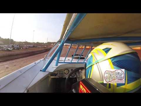 Tate McCollum Super Latemodel In-Car Dixie Speedway 6/10/17!