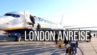 London Anreise • Köln nach London mit Ryanair   VLOG #363