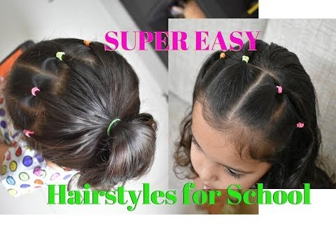 Turn a simple ponytail into a Spunky one|Easy to Do Ponytails for Girls|Spunky Hairstyle for School