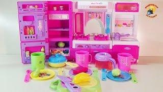 Мини-кухня детский набор для девочек / Kitchenette baby kit for girls(Детский игровой набор мини-кухня 498 розового цвета. Артикул игрушки: 498 Игрушка предоставлена интернет-маг..., 2014-11-06T19:08:31.000Z)