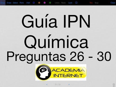 guía-ipn-quÍmica-preguntas-26---30