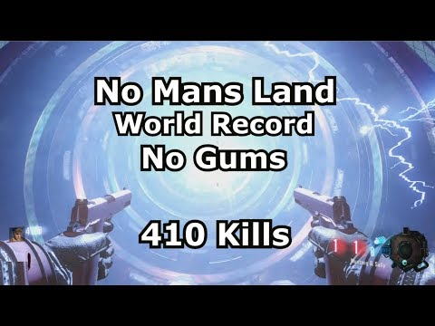 No Mans Land World Record 410 Kills (b03 No Gums no rk5) black ops 3 zombies