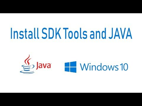 How Install SDK Tools And JAVA Jdk For ApkTool And Android Studio Windows 10