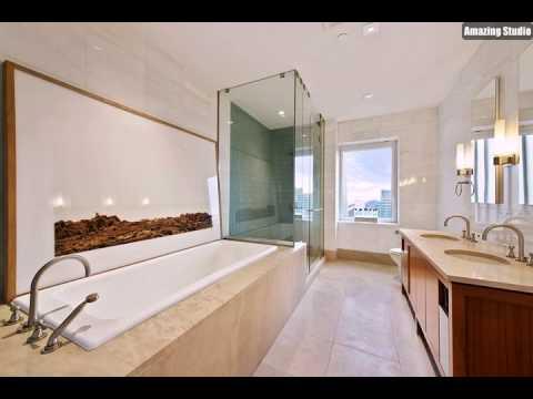 Moderne Badezimmer Mit Dusche Und Badewanne Youtube