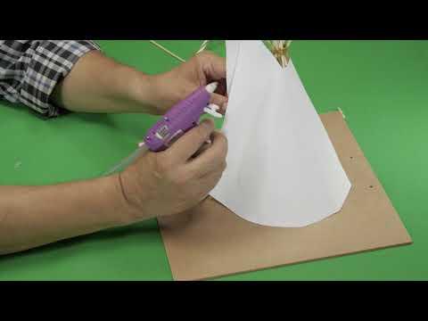 How To Create A Miniature Teepee