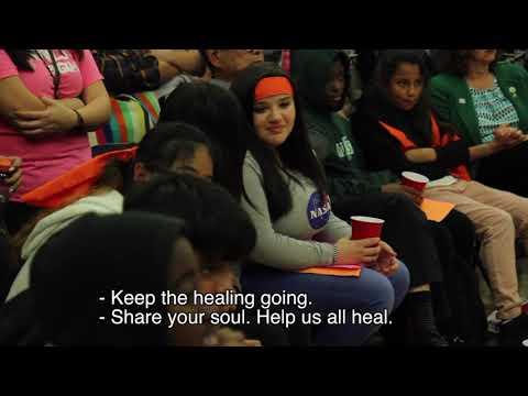 Students Transform Tense Oakland School Board Meeting Over Budget Cuts into A Circle