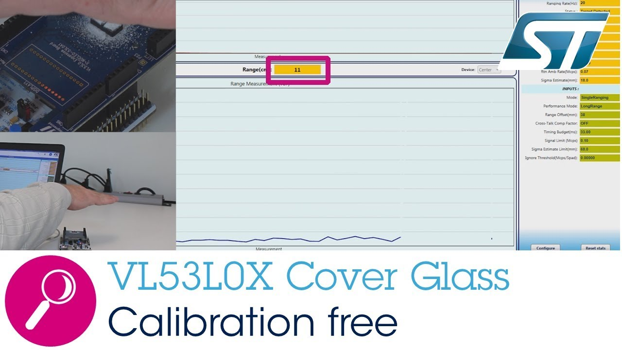 VL53L0X: Calibration-Free Dirty Environment Cover Glass Solution