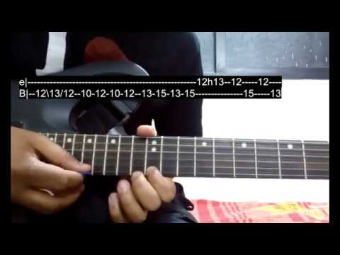 In Dino Electric Guitar Solo Lesson | Life In A Metro | Shubham ...
